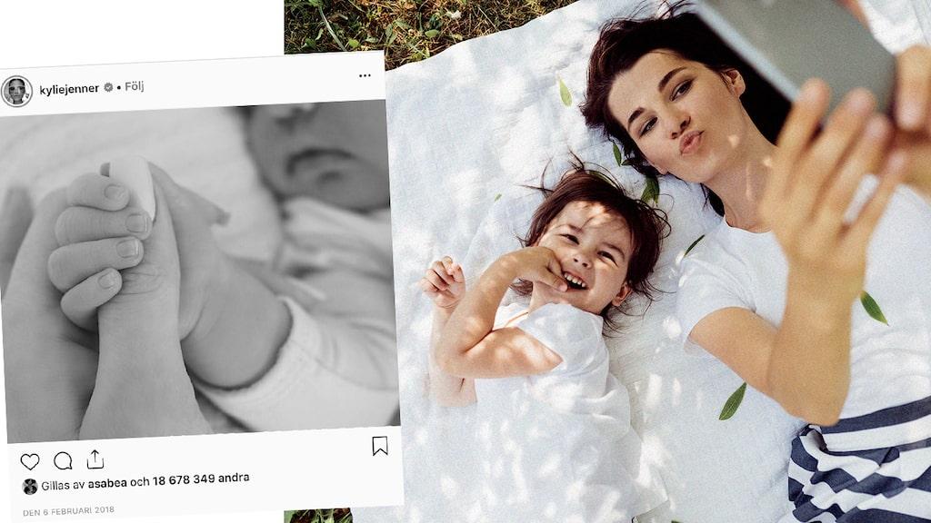 Vilken typ av bilder är okej att lägga ut på sitt barn?