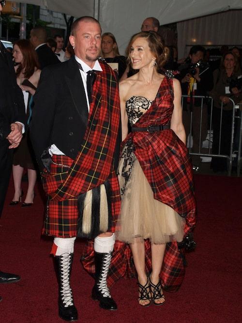 Alexander McQueen med Sarah Jessica Parker 2006.