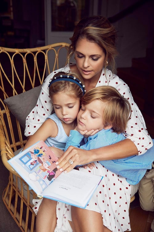 """Princess Madeleine of Sweden released children's book """"Stella and the Secret"""" earlier this year."""