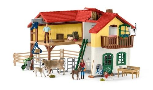 Bondgård och djur sätter i gång fantasin hos en sexåring.