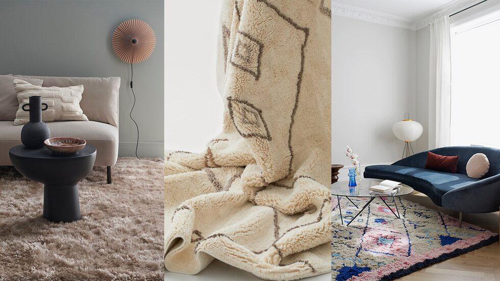 Vi väljer säsongens snyggaste och skönaste mattor.