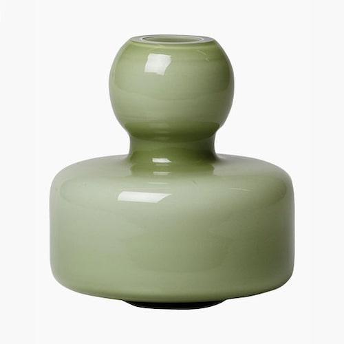 Vas i munblåst glas från Marimekko, design Carina Seth-Andersson.