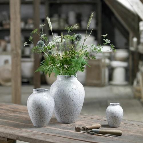 Vas i keramik från Kanbstrup.