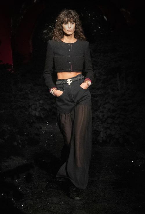 Höstmode från Chanel AW21.