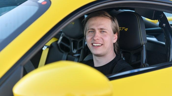 Andreas Westerlund vann vår tävling och fick en plats på årets trackday.