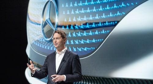 Daimlers vd Ola Källenius har stora planer.