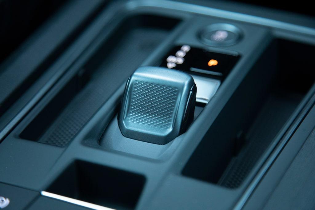 Den lilla växelstubben har endast elektronisk koppling till dubbelkopplingslådan.