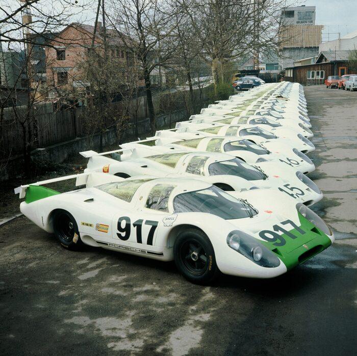 Snyggt uppradade för FIA att inspektera 1969.