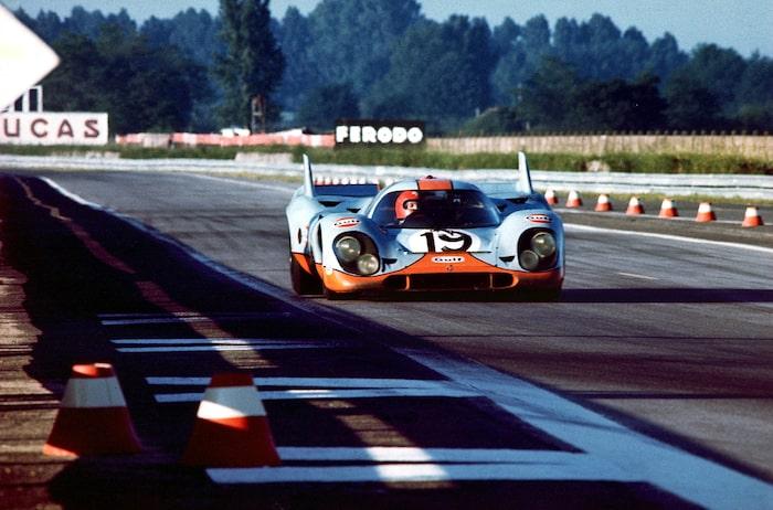 Tvåa på Le Mans 1971. Den bilen vi har provkört.