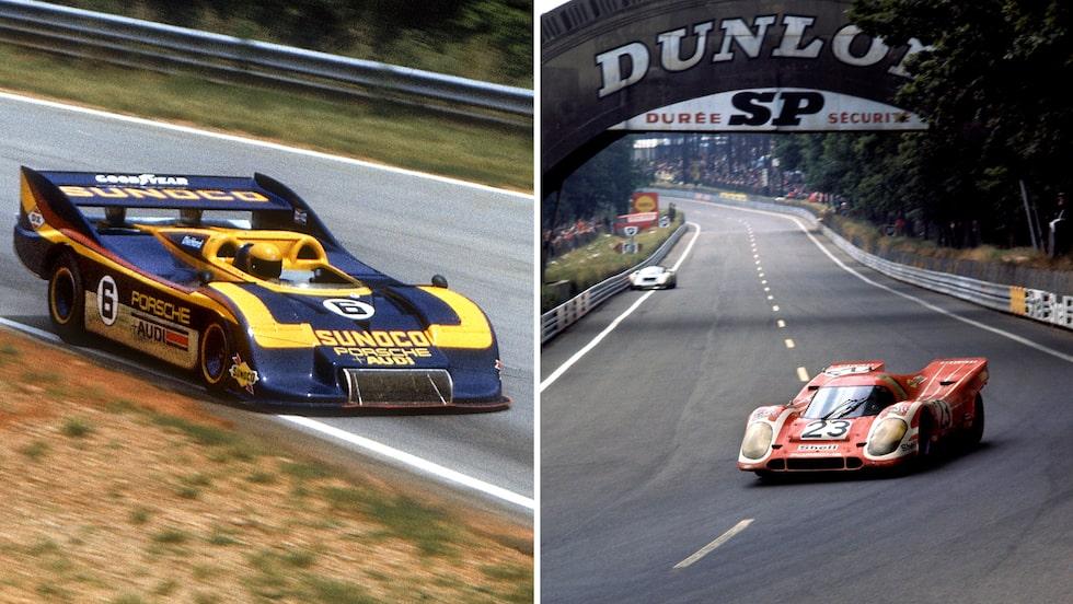 Till vänster: 1 100 hästkrafter och Mark Donohue krossade allt i Can-Am 1973.