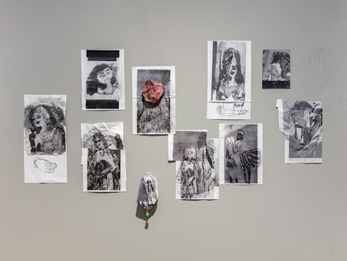 Ur Helene Billgrens utställning B Spring 21 på Magnus Karssons galleri.