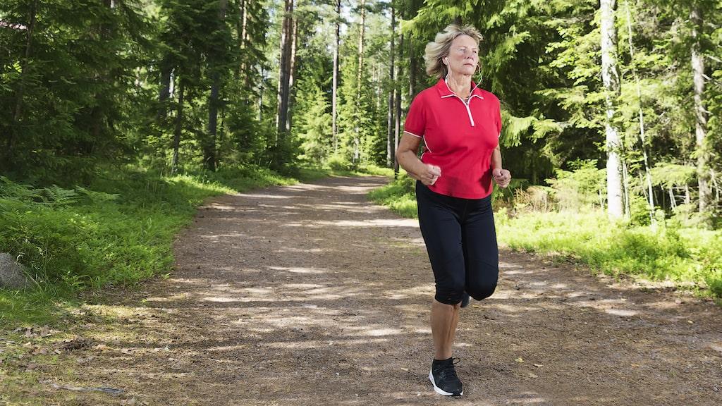 Vid fysisk aktivitet är inkontinenssymptomen mer påtagligt.