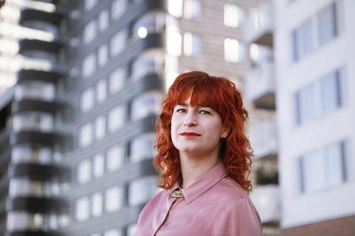 Sandra Dahlén, sexualupplysare och författare till boken Hallongrottan.