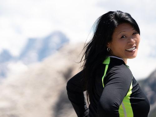 Sedan Ewa förändrade sin livsstil har hon upptäckt träningsglädjen.