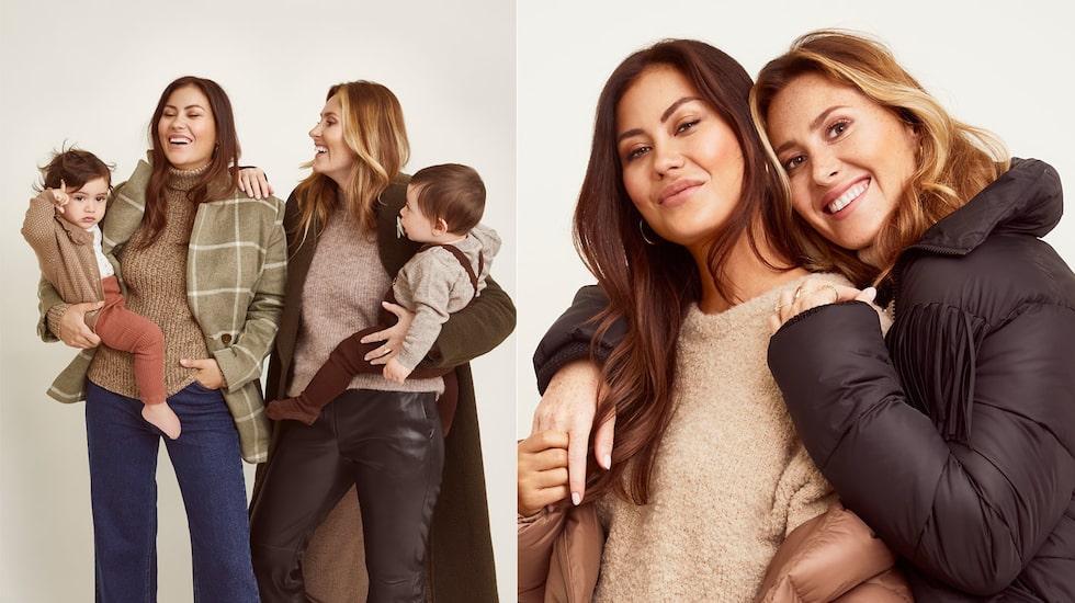 """Döttrarna Vienna och Valentina har förändrat livet för vännerna Danijela """"Dani"""" Pavlica och Ines """"Inesstagram"""" Kokic. Som nyblivna mammor båda två har de fått mycket stöd av varandra."""