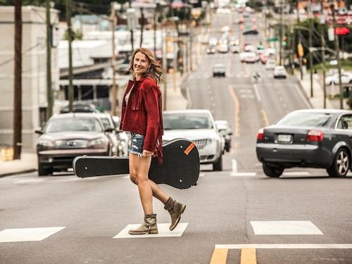 """Musikstaden Nashville är ett av Jills alla """"hem"""" dit hon gärna åker – och där hon även spelar in Jills veranda."""