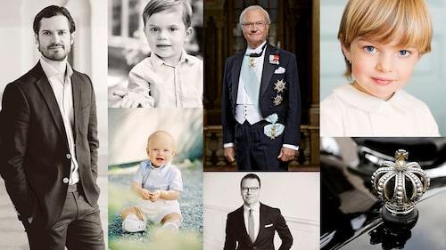 Ska sonen kanske heta Carl Philip, Oscar eller Nicolas?