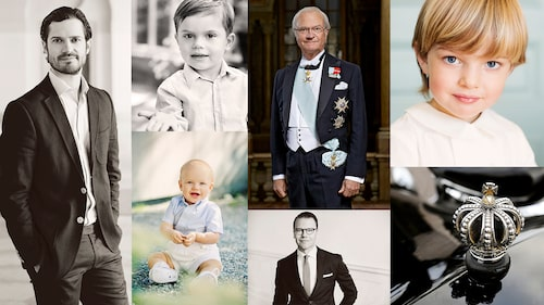 Ska sonen kanske heta Carl Philip, Oscar, Carl Gustaf, Nicolas, Gabriel eller Daniel?