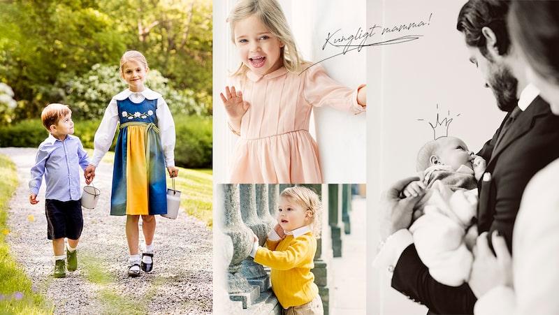 Kungahusets barn och vuxna inspirerar med sina namn.