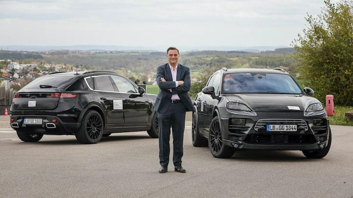 Porsches utvecklingschef Michael Steiner tror på en fortsatt efterfrågan på Macan med bensinmotor.