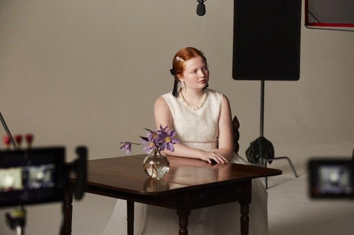 Simone Rocha x H&M-kollektionen innehåller mycket romantiska och feminina klänningar.
