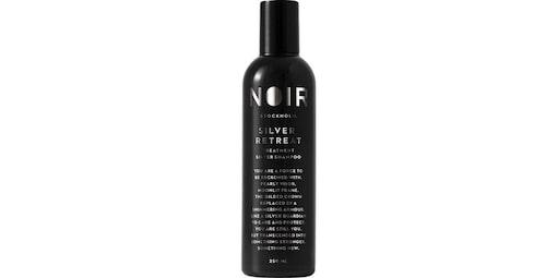 Recension på Silver retreat hair shampoo från Noir.