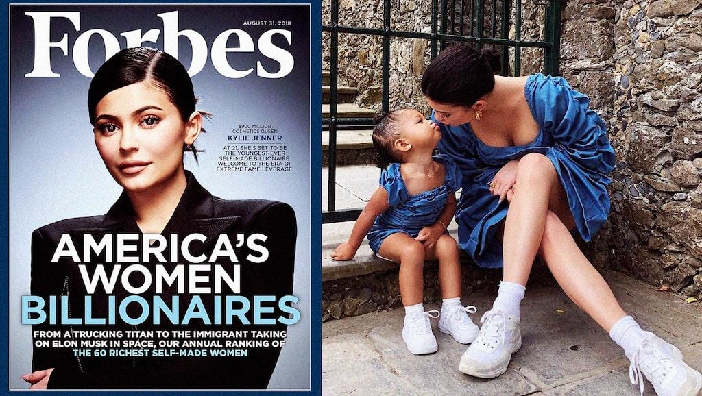 Vi kartlägger reality-stjärnan Kylie Jenners liv som mamma.