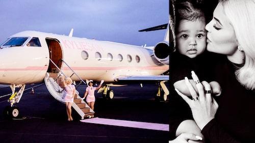Klart Kylie ska ha ett eget flygplan.