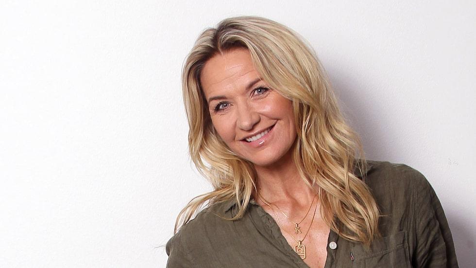 Kristin Kaspersen är aktuell med samtalspodden Nyfiken på.