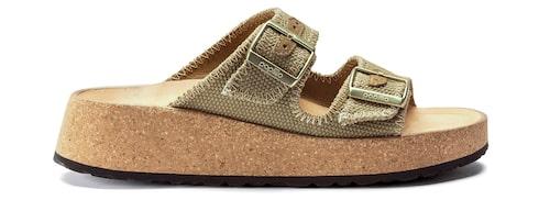 Slip in-sandaler med grov sula sommaren 2021.