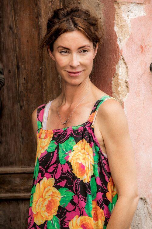 Marie Olsson Nylander i SVT:s Husdrömmar Sicilien, säsong två.