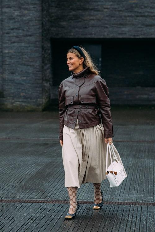 Janka Polliani på Copenhagen Fashion Week