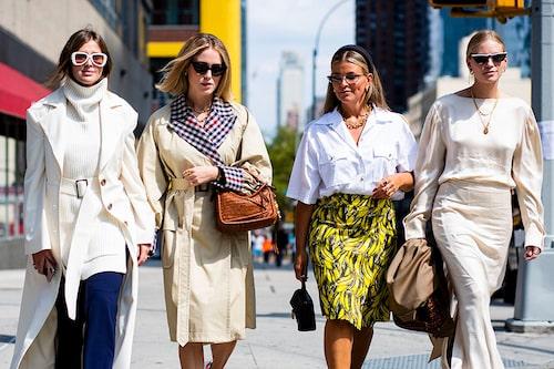 Darja Barannik, Anabel Rosendahl, Janka Polliani och Tine Andrea.