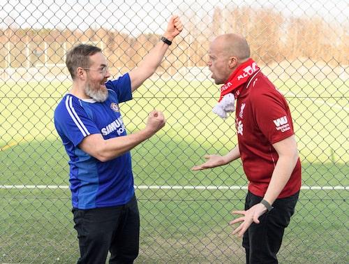 Engström hävdar att Thiago Silva är bäst, Sundström håller fast vid Roberto Firmino. Att båda är lönnfeta råder det dock ingen tvekan om.
