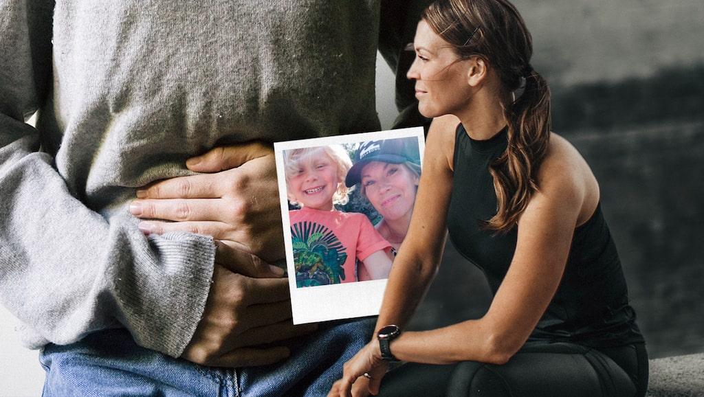 Hälsoprofilen Petra Månström fick smärtsamma blödningar som höll i sig länge.