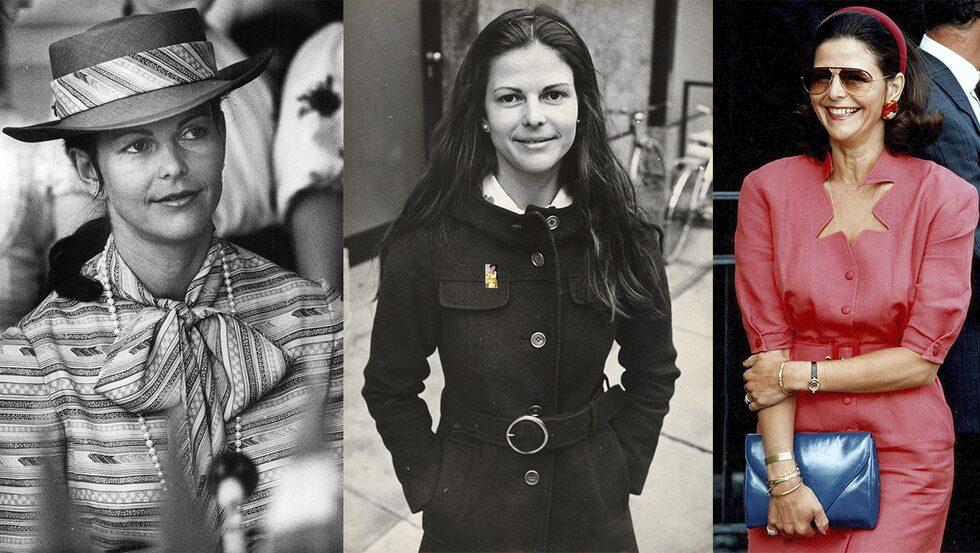 Drottning Silvias stil från då till nu