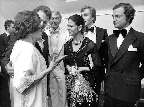 Med Zara Leander 1977.