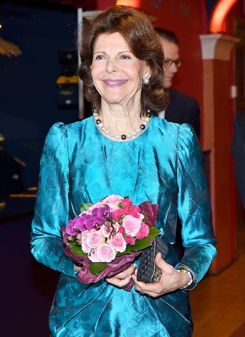 Drottning Silvia på konsert med Lilla Akademien 2020.