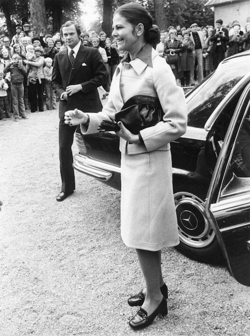 Kung Carl XVI Gustaf och drottning Silvia 1970-tal