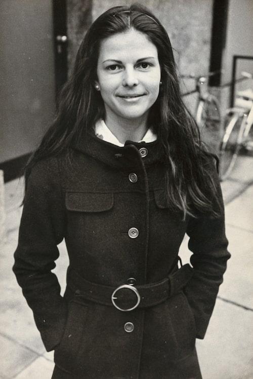 Silvia under tidigt 70-tal.