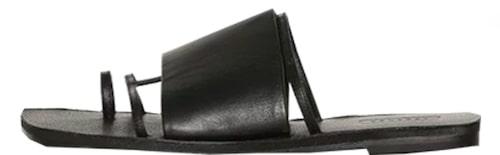 Slip in-sandaler från Topshop i äkta skinn. Klicka på bilden och kom direkt till plagget.