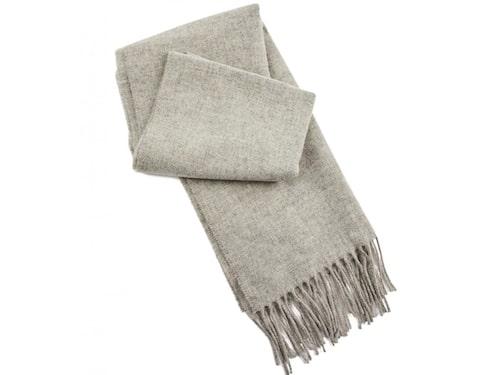 Grå halsduk i ull från FWSS.