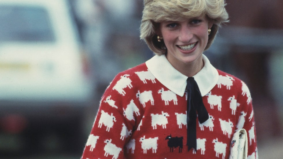 Diana på polomatch i juni 1983.