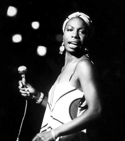 Nina Simone, en sann artist-ikon.