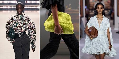 Kramgoa kuvertväskor hos Isabel Marant, Bottega Veneta och Lanvin AW20.