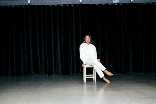 Kajsa Baekmark är loppisexpert och driver kläduthyrning.