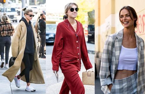 Pyjamas på stan kanske låter galet – men faktum är att det är riktigt trendigt. Inspireras själv av stilproffsen.