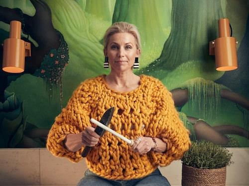 Att vända och vrida på gamla problem är inget för Tina Nordström, som hellre fokuserar framåt.