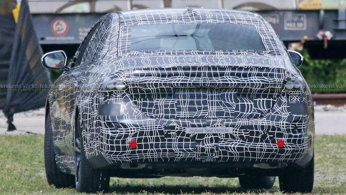 Nästa generation BMW 5-serie laddhybrid.