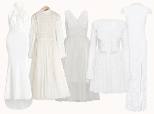 Bröllopsklänningar under 1000 kronor.